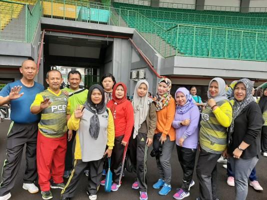 Kegiatan Olahraga Senam SPARCO Hari Selasa Tanggal 17 Desember 2019